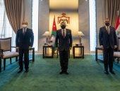 العاهل الأردنى بعد لقائه السيسى: خطوة مهمة فى جهود بناء التكامل الاقتصادى