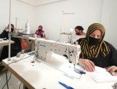 """""""القومى للمرأة"""" بالإسكندرية ينظم ورشة عمل لـ""""تصنيع الكمامات"""""""