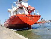 شحن 3000 طن أسمنت من الميناء وتدوال 25 سفينة بموانئ بورسعيد