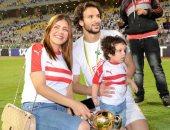 زوجة محمود علاء تنفى إصابته بكورونا: مفيش حاجة والغرض تشتيت وشوشرة ووجع قلب