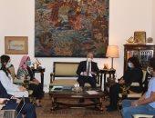 وزيرة الثقافة تبحث مع محافظ جنوب سيناء خطة تطوير قصر ثقافة الطور