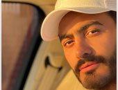 """تامر حسني يطرح أحدث أغانيه """"فجأة افترقنا"""" من ألبوم """"خليك فولاذى""""..فيديو"""
