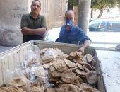 مصادرة 1450 رغيف خبز مدعم قبل بيعه بالسوق السوداء فى حملة بالمنيا