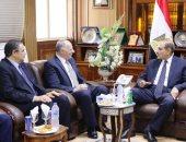 محافظ كفر الشيخ يستقبل رئيس هيئة قضايا الدولة لافتتاح فرع الهيئة بالحامول
