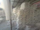 ضبط 112 طن ملح طعام غير صالح للاستهلاك الآدمى في دمياط