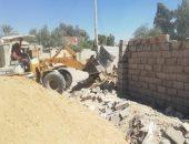 نائب محافظ جنوب سيناء تتابع إزالة تعديات على التنظيم العمرانى بأبو صويرة..صور