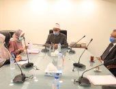 """أمين """"البحوث الإسلامية"""" يبحث مع رئيس """"تطوير الوافدين"""" التعاون المشترك"""