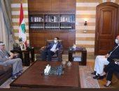 سفير مصر بلبنان يلتقى سعد الحريرى ونبيه برى ورؤساء أحزاب سياسية