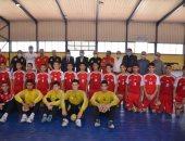 وزير الرياضة يشهد تدريبات المشروع القومي للموهبين في كرة اليد بالإسماعيلية