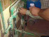 تغيير 90 عداد مياه بمسبوق الدفع وتغريم مقاولين لسرقتهم مياه الإنشاءات بديرب نجم