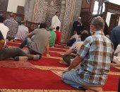 قارئ يشارك بصور لصلاة الجمعة من مسجد الشهيد جلال عامر بالنزهة