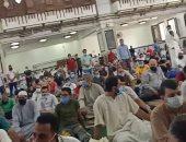قارئ يشارك بصور لصلاة الجمعة من مسجد الحصرى فى 6 أكتوبر
