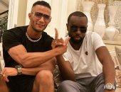 محمد رمضان برفقة الفنان العالمى ميتر جيمس: انتظروا مفاجأة كبرى