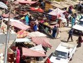 شكوى من سوق عشوائى فى شارع أحمد حلمى مرزوق بالفيوم