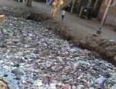قارئ يشكو تراكم القمامة بترعة الفلفلة بمحافظة القليوبية