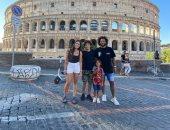 مارسيلو فى أحدث ظهور مع عائلته بإيطاليا قبل عودة الدوري الإسباني.. صورة