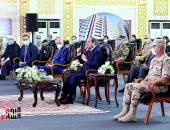 السيسي: أسجل احترامى لوعى المصريين.. وهناك مغرضون يريدون تدمير مصر (فيديو)