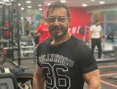 أحمد زاهر يكشف عن فورمته الجديدة من داخل الجيم استعدادا لدوره في مسلسل لؤلؤ