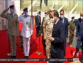 الرئيس السيسى يصل الإسكندرية لافتتاح عدد من المشروعات..فيديو