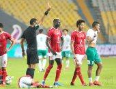 علاء ميهوب : طرد أحمد ياسر والهدف الأول منحا الأهلى الفوز على المصرى