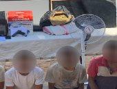 ضبط سلاح ومخدرات بحوزة لصوص في السويس