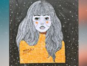 """""""منة"""" تشارك صحافة المواطن عددًا من لوحاتها الفنية"""