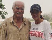 صورة نادرة تجمع دينا حايك بوالدها بعد إعلانها خبر وفاته
