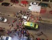 مصرع طفل اصطدمت به سيارة ميكروباص مسرعة خلال عبوره الطريق بشبرا الخيمة
