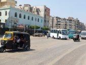 موقف سيارات عشوائى يسبب تكدس المرور.. شكوى أهالى شارع 15 مايو بشبرا الخيمة