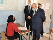 وزير التربية والتعليم يتفقد لجان امتحانات الثانوية العامة دور ثان.. صور