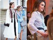 أجمل إطلالات الملكة رانيا بأزياء ومجوهرات مصممين عرب