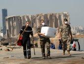 باخرة إماراتية تصل لبنان على متنها 2400 طن من المساعدات