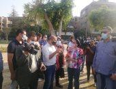 وزيرة البيئة تزرع شجرة بحديقة ألماظة بعد إعادة تشجيرها.. صور