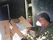 ضبط 4500 علبة سجائر وإكسسوارات مجهولة المصدر خلال حملة تموينية بمطروح