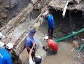 رفع 2000 طن من التراكمات الطينية فى مدينة مكسيكية بسبب الأمطار