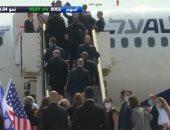 بث مباشر.. وصول أول رحلة طيران من إسرائيل للإمارات بعد اتفاق السلام