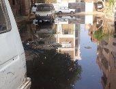 """""""سيبها علينا"""".. شكوى من انتشار مياه الصرف الصحى فى أبو النمرس بالجيزة"""