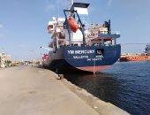 شحن 3200 طن صودا كاوية وتفريغ 3600 طن رخام وتدوال 26 سفينة بموانئ بورسعيد