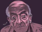"""محمود من المنوفية يشارك صحافة المواطن بتصميمات بطريقة """"فيكتور آرت"""""""