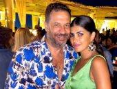 ماجد المصري يحتفل بعيد ميلاد زوجته بصورة ورسالة رومانسية