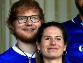 """إيد شيران وزوجته يستقبلان مولودتهما الأولى """"ليرا"""""""