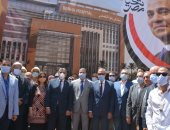 محافظ القليوبية ورئيس جامعة بنها يفتتحان مشروعات بتكلفة مليار و965 مليون جنيه