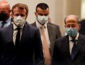 الرئيس الفرنسى يجرى لقاءات منفردة مع قادة الأحزاب اللبنانية