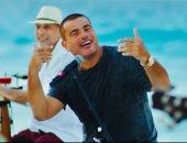 "عمرو دياب يطرح كليب أغنية ""ده لو اتساب"".. فيديو"