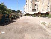 الرصد البيئى ترفع القمامة من أمام مساكن ضباط مصطفى كامل بالإسكندرية