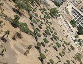 تصحر حدائق مدينة نصر.. شكوى سكان المنطقة التاسعة بحى شرق محافظة القاهرة