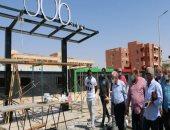محافظ جنوب سيناء يتفقد الأعمال الجارية بشارع 306 وكورنيش طور سيناء.. صور