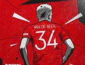 فان دى بيك يرد الجميل لعبد الحق نورى ويرتدى القميص 34 مع مانشستر يونايتد