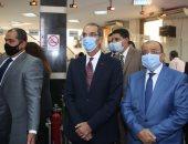 3 وزراء يطلقون خدمات الشهر العقارى بالمركز التكنولوجي بجنوب الجيزة.. صور