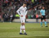 رونالدو يغيب عن تدريبات البرتغال قبل مواجهة كرواتيا للإصابة
